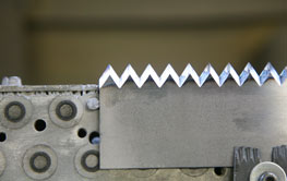 Packaging machine knives